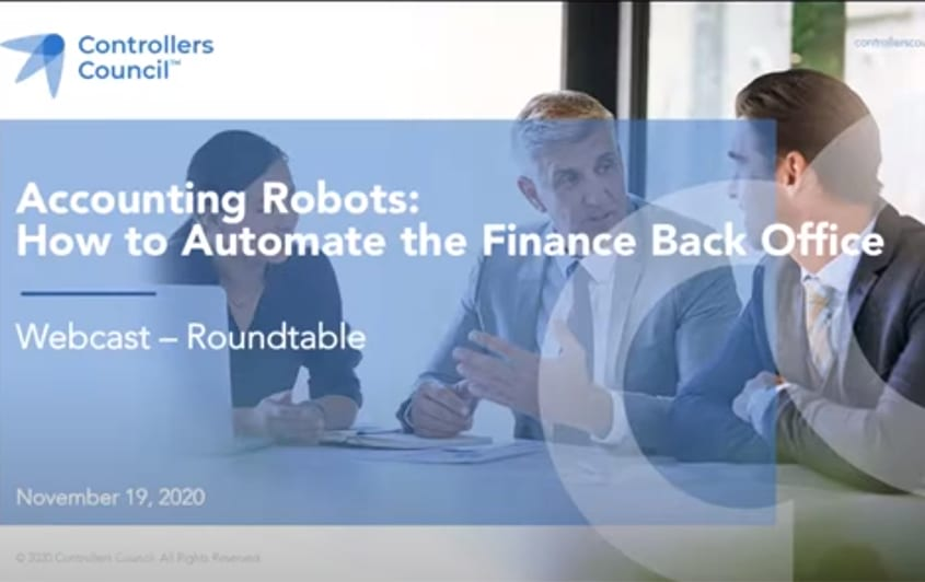 Accounting Robots: How to Automate the Finance Back Office