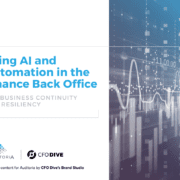 Using AI and Automation in the Finance Back Office